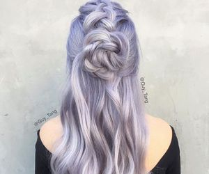 hairstyle, hair, and beauty image