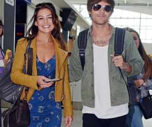 louis tomlinson, one direction, and danielle campbell image