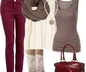 outfit, fashion, and women clothes image