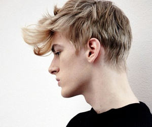 boy, model, and blonde image