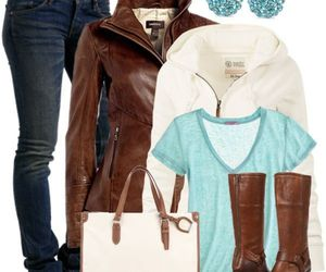 fashion, outfit, and women clothes image