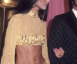 70s, glitter, and golden image