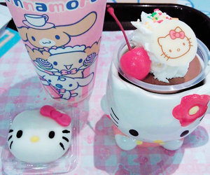 hello kitty, food, and japan image