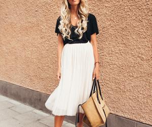 fashion, black, and high heels image