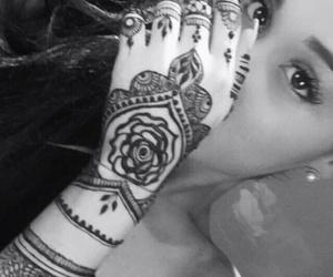 ariana grande, henna, and ariana image