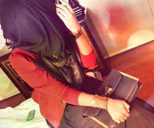 hijab, muslima, and islam image