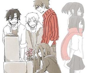 anime, kano, and seto image