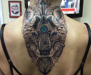 back, tatoo, and indian style image