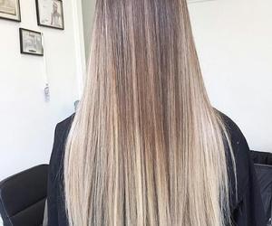 beautiful, girly, and long hair image