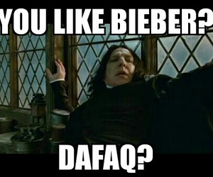 harry potter, meme, and justin bieber image