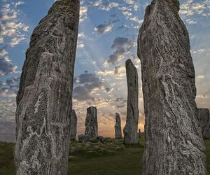 prehistoric, stones, and standing stones image