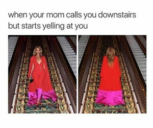 funny, beyoncé, and mom image