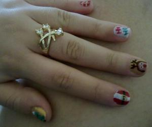 christmas, unhas decoradas, and nail arts image