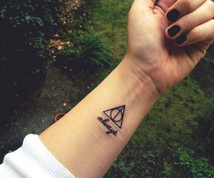 tattoo, always, and harry potter image