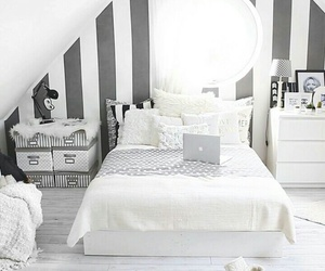 home, bed, and bedroom image