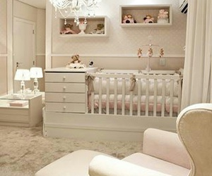baby, bedroom, and interior image