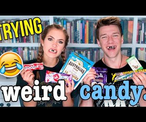 candy, humor, and video image