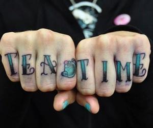 tattoo, tea, and tea time image