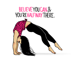 fitness, believe, and workout image