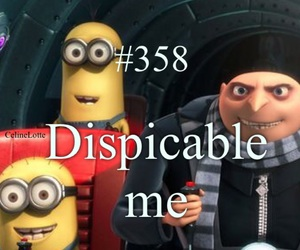 minions, movie, and dispicable me image