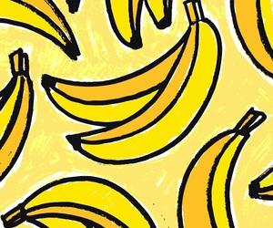 background, wallpaper, and banana image