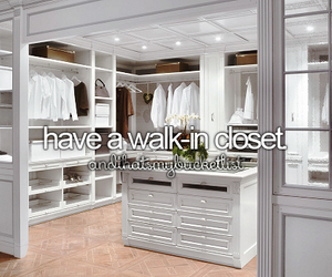 closet, white, and house image