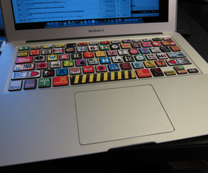 keyboard, cool, and apple image