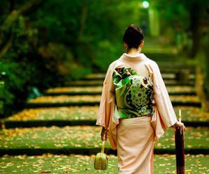 japan and kimono image