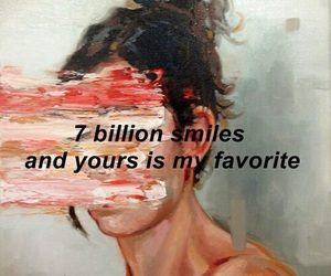 quotes, smile, and art image