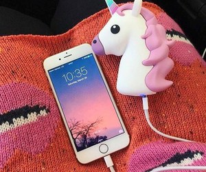 unicorn and iphone image