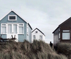 blue, indie, and house image