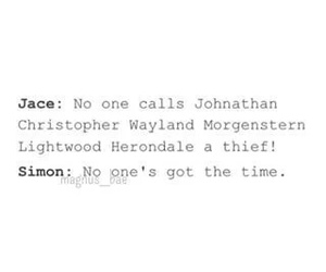 funny, jace, and shadowhunter image