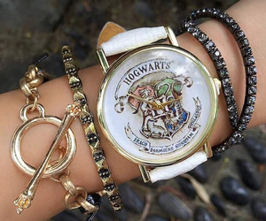 harry potter, hogwarts, and watch image