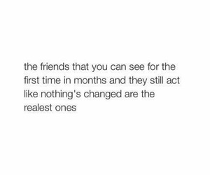 quote and real friends image