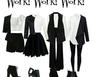 formal, four, and work image