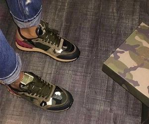 Valentino, shoes, and sneakers image