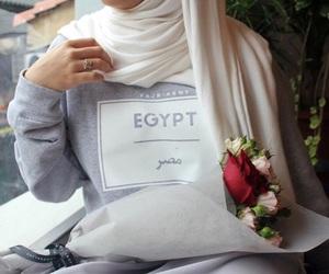 hijab, abaya, and hijâbi image