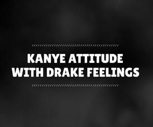 Drake, easel, and font image