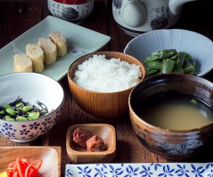 japan, food, and breakfast image