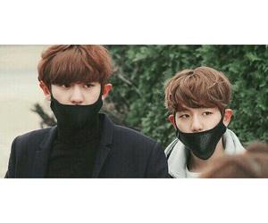 chanbaek, boy, and exo image