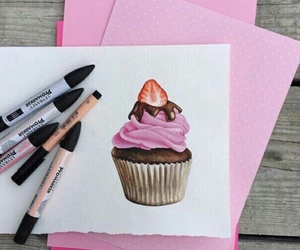 drawing and pink image