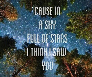 coldplay and stars image
