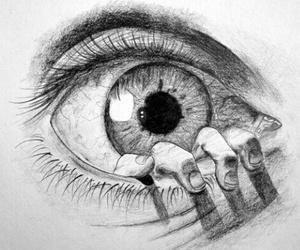 eye, draw, and art image