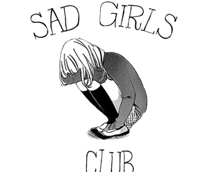 club, depressive, and girls image