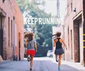 fitness, running, and motivation image