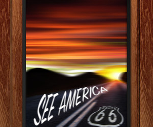 art, design, and route 66 image