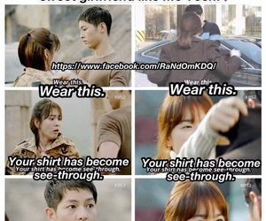 dots, quotes, and Korean Drama image
