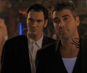 george clooney, quentin tarantino, and from dusk till dawn image