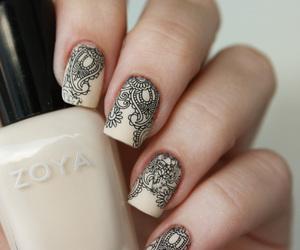nails, nail art, and zoya image