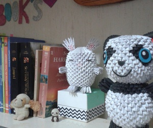 books, libros, and pandas image